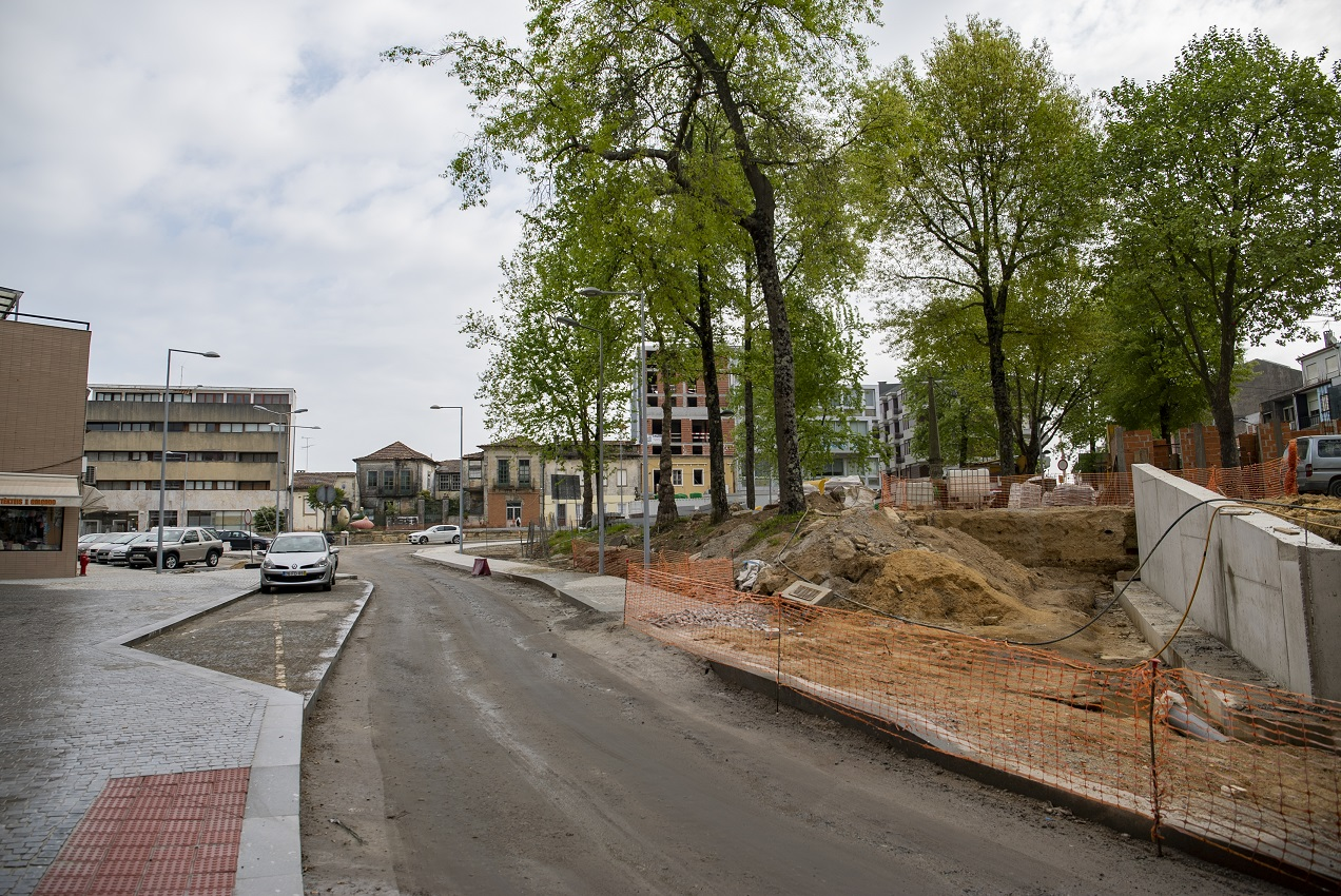 Alterações de trânsito devido às obras no Campo S. José