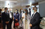 Vice-Presidente da Câmara e Secretário de Estado dão os parabéns aos profissionais de saúde em visita ao Hospital de Barcelos