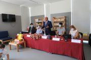 inaugurada biblioteca escolar do centro escolar...