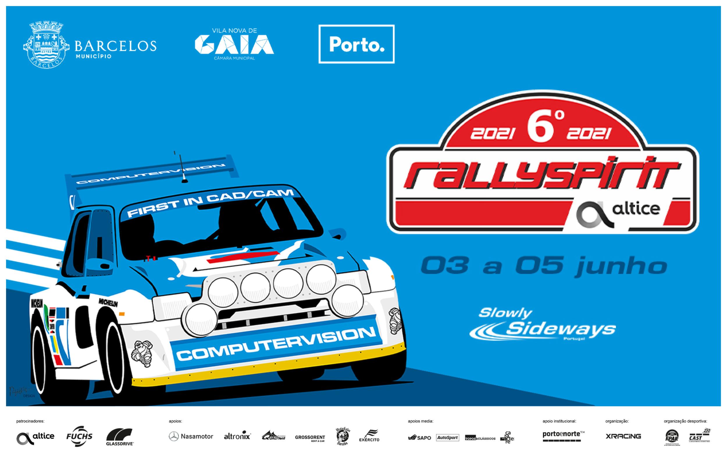 RallySpirit Altice 2021 em Barcelos