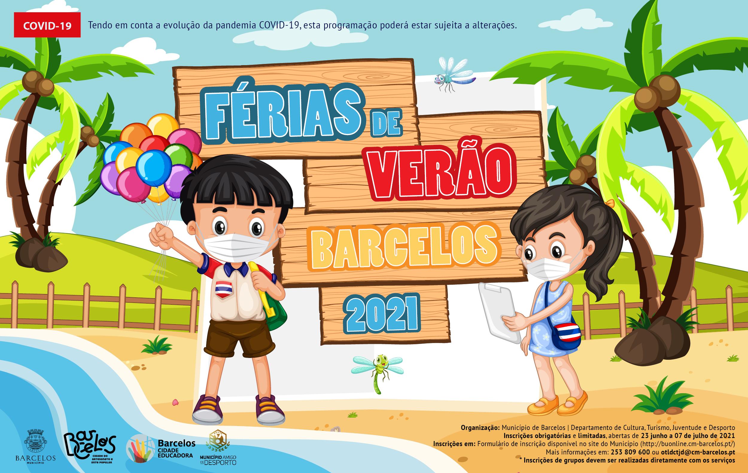 Município de Barcelos promove várias atividades para as férias de verão de alunos do concelho