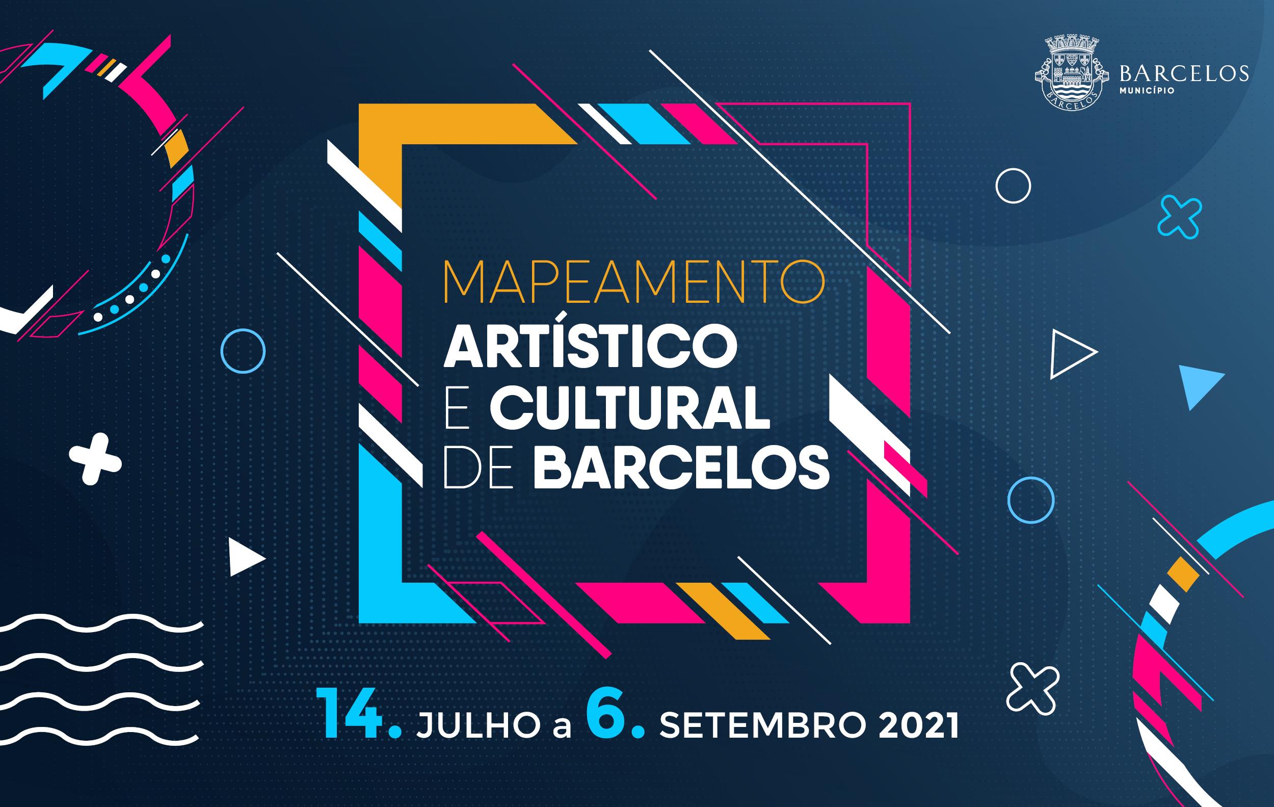 Inscrições na plataforma digital do Mapeamento Artístico e Cultural de Barcelos disponíveis no site do Município