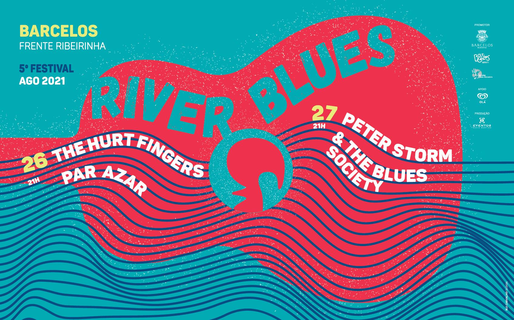Frente Ribeirinha recebe 5.ª edição do festival River Blues