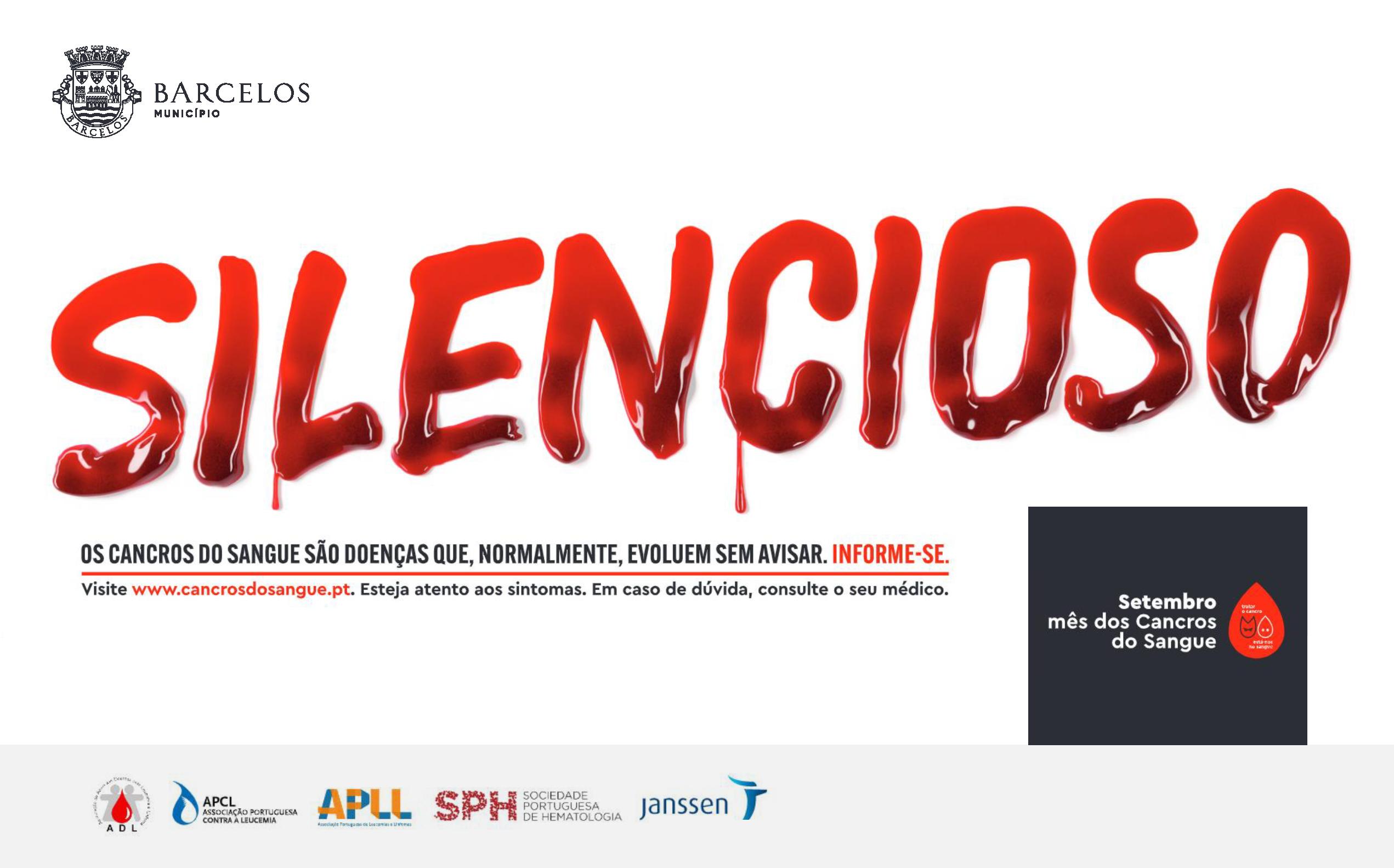 """Barcelos associa-se à iniciativa """"setembro é o mês dos cancros do sangue"""""""