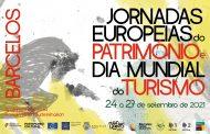 Município de Barcelos adere às Jornadas Europeias do Património e ao Dia Mundial do Turismo