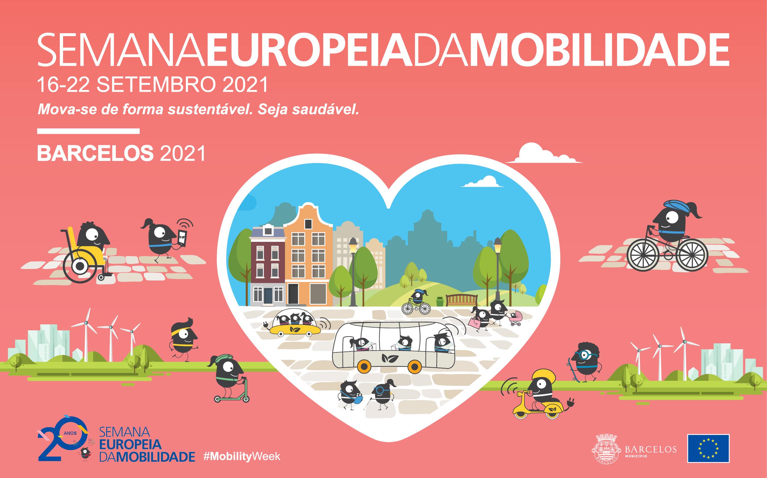Município de Barcelos adere à Semana Europeia da Mobilidade